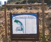 Praia Fluvial Ana de Aviz na Aldeia de Ana de Aviz em Figueiró dos Vinhos, Leiria