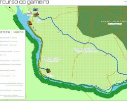 Passadiço de Madeira do Parque Ecológico do Gameiro