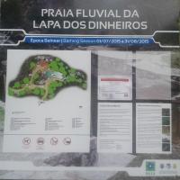 Praia fluvial Lapa dos Dinheiros