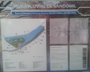 Praia Fluvial Sandomil