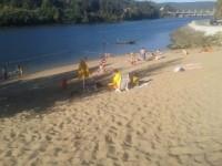 Praia Fluvial de Crestuma (Esteiro) junto ao Clube Náutico