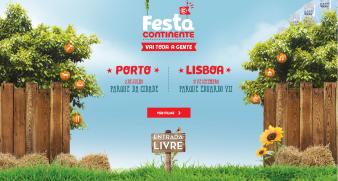 Festa Continente-2016 no Porto e Lisboa