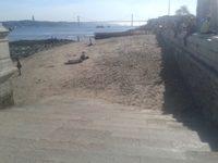 Praia Fluvial da Ribeira das Naus – Terreiro do Paço – Lisboa
