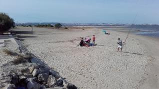praia fluvial ponta dos corvos
