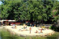 Praia Fluvial Peneda – Góis – A praia da ilha branca no meio do Rio Ceira