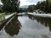 Praia Fluvial da Srª da Graça em Serpins, Lousã e o Parque de Campismo