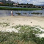 Praia Fluvial em Ponte de Lima junto ao Parque do Arnado