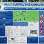 Praia Fluvial das Canaveias, Góis – A praia do extenso manto verde