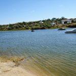 Praia Fluvial na Albufeira da Barragem de Montargil