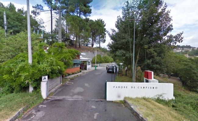 Parque Campismo Amarante - Entrada