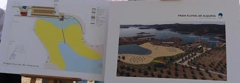 Praia Fluvial de Alqueva - Projecto