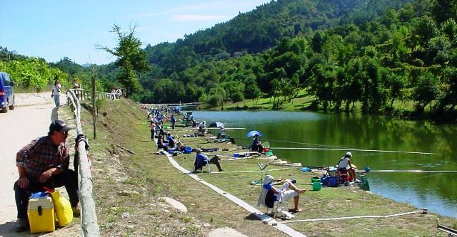 Pista de pesca desportiva e de competição de Cavez